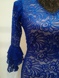 Flamenco dance dress Lace  Model |  Vestido baile flamenco Encajes