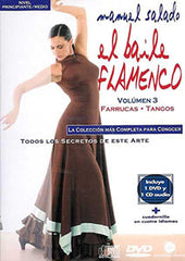 "Manuel Salado: Flamenco Dance - Intermediate Level Farrucas y Tangos (DVD/CD) |  Manuel Salado El baile flamenco ""Nivel Avanzado"" Farrucas y Tangos (DVD/CD)"