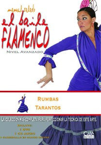 "Manuel Salado: Flamenco Dance - Advanced Level Rumbas y Tarantos (DVD/CD) |  Manuel Salado El baile flamenco ""Nivel Avanzado"" Rumbas y Tarantos (DVD/CD)"