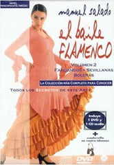 "Manuel Salado: Flamenco Dance - Intermediate Level Sevillanas y Fandangos (DVD/CD) |  Manuel Salado El baile flamenco ""Nivel Avanzado"" Sevillanas y Fandangos (DVD/CD)"