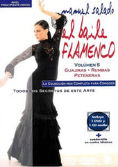 "Manuel Salado: Flamenco Dance - Intermediate Level Guajiras, Rumbas y Peteneras (DVD/CD) |  Manuel Salado El baile flamenco ""Nivel Avanzado"" Guajiras, Rumbas y Peteneras (DVD/CD)"