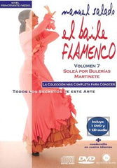 "Manuel Salado: Flamenco Dance - Intermediate Level Soleá por Bulerías y Martinete(DVD/CD) |  Manuel Salado El baile flamenco ""Nivel Intermedio"" Soleá por Bulerías y Martinete(DVD/CD)"