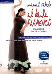 "Manuel Salado: Flamenco Dance - Intermediate Level Caña y Soleá (DVD/CD) |  Manuel Salado El baile flamenco ""Nivel Intermedio"" Caña y Soleá (DVD/CD)"