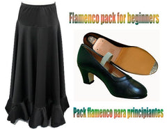 Flamenco pack for beginners |  Pack flamenco para principiantes