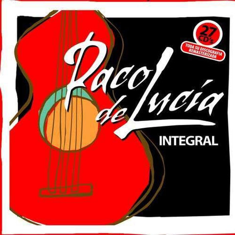 The complete of Paco de Lucía Reissue (27 CDS) REISSUE |  Nueva Integral - Paco de Lucía (27 CDs)