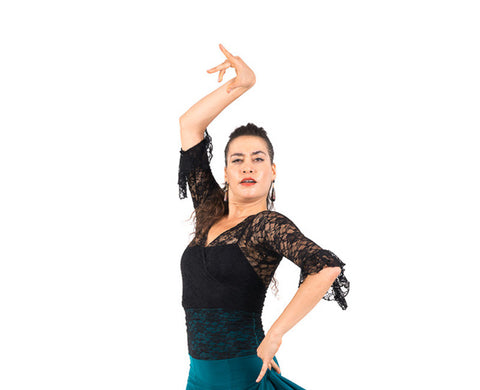 Flamenco dance blouse Lace |  Blusa de baile flamenco Encaje