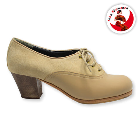 Flamenco dance shoes Chapin partido Model |  Zapato baile Flamenco Luna Flamenca Chapin Partido