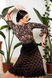 Flamenco skirt and top  |  Falda y blusa baile flamenco