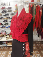 Flamenco Shawl for dance |  Mantoncillo Flamenco