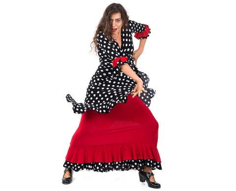 Flamenco dance skirt Doble  |  Falda baile flamenco Doble