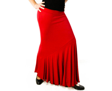 Flamenco dance skirt Carpio Model  | Falda baile flamenco Modelo Carpio
