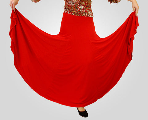 Copy of Basic Flamenco dance Skirt |  Falda baile flamenco basica