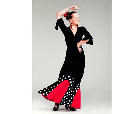 Flamenco dance skirt Arco |  Falda baile flamenco Arco