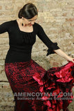 Flamenco dance skirt  Compas Model |  Falda baile flamenco Modelo Compas