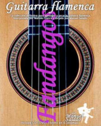 Manuel Salado Flamenco Guitar - Vol 5 Fandangos (DVD+CD)  |  Método de Guitarra Flamenca Manuel Salado - Vol 5 Fandangos (DVD+CD)
