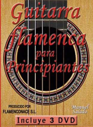 Flamenco Guitar for Beginners (3 DVD´S)  |  La Guitarra Flamenca para principiantes (3 DVD´S)