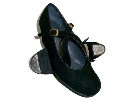 Flamenco dance shoe Luna Flamenca Correas Cruzadas Model |  Zapato baile Flamenco Luna Flamenca Modelo Correas Cruzadas