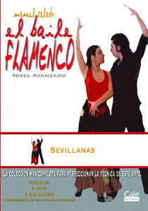 "Manuel Salado: Flamenco Dance - Advanced Level Sevillanas (DVD/CD) |  Manuel Salado El baile flamenco ""Nivel Avanzado"" Sevillanas (DVD/CD)"