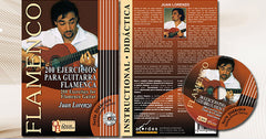 200 Ejercicios para Guitarra Flamenca  (CD/Libro partituras)