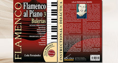 Flamenco al Piano 3 - Bulerías (Audio MIDI/Libro de Partituras)