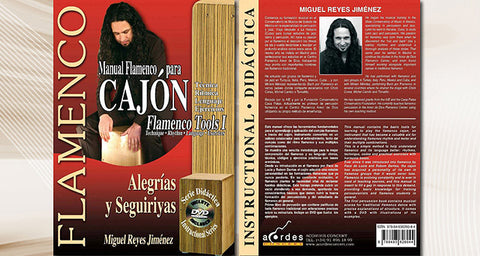 Manual Flamenco para Cajón (DVD/Libro de Partituras)
