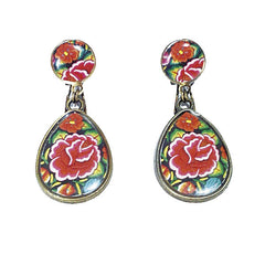 Flamenco dance earrings | Pendientes baile flamenco