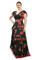 Flamenco dance dress Tento Model |  Vestido baile flamenco Modelo Tento