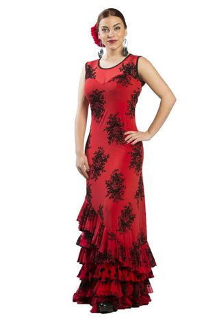 Flamenco dance dress Alberti Model |  Vestido baile flamenco Modelo Alberti