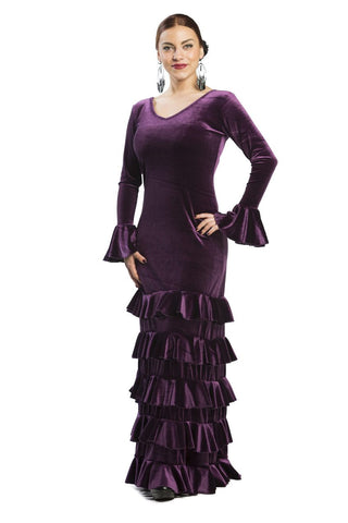 Flamenco dance dress Silverio Model |  Vestido baile flamenco Modelo Silverio