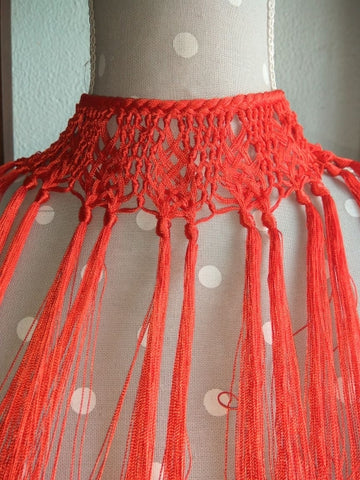 Flamenco Dance Fringed necklace | Gargantilla De Flecos Para El Baile Flamenco