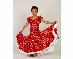 Flamenco Dress for girls |  Vestido baile flamenco niñas