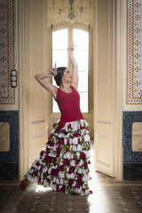Vestido para baile flamenco / Flamenco dance dress