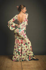 Flamenco dance dress |  Vestido baile flamenco Estampado