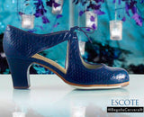 Flamenco dance shoes Begoña Cervera Escote Model |  Zapato baile flamenco Begoña Cervera Modelo Escote