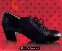 Flamenco dance shoes Begoña Cervera Picado Model |  Zapato baile flamenco Begoña Cervera Modelo Picado