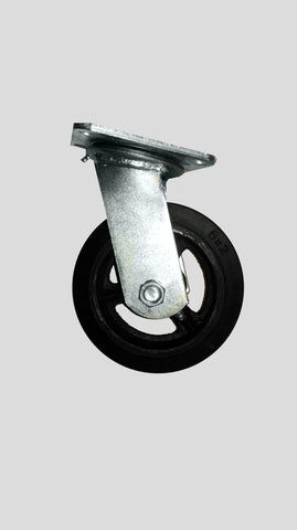 Swivel Caster - Mold-on Rubber