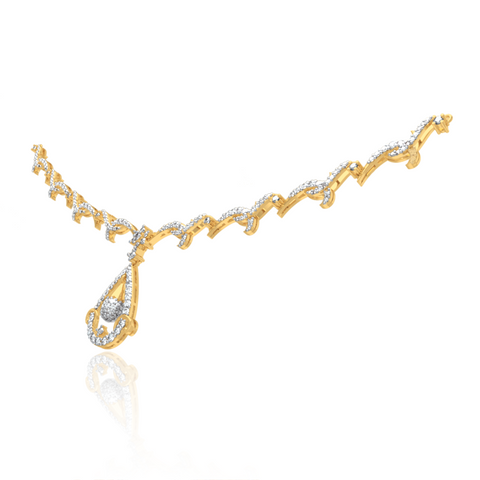 Anvi Diamond Necklace