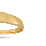 Classic wedding band - High dome (3 mm)