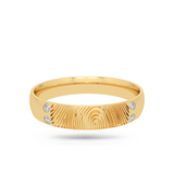 Finger print Wedding Band