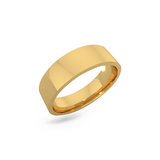 Classic wedding band - Flat (6mm)