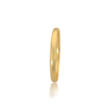 Classic wedding band - High dome (2 mm)