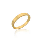 Classic wedding band - Flat (3 mm)