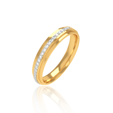 Adrian Wedding Band For Her