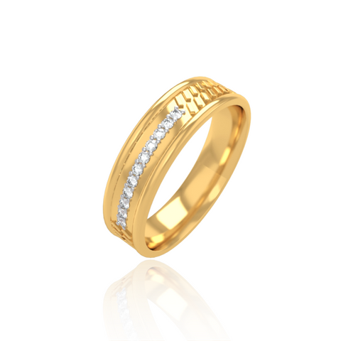 Haiden Wedding Band for Him