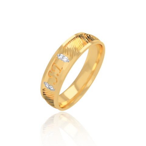 Perry Wedding Band for Him