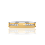 Abbey Wedding Band For Her