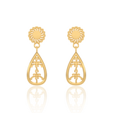 Aava Gold Earrings