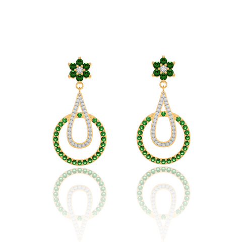 Rouben Gemstone Earring