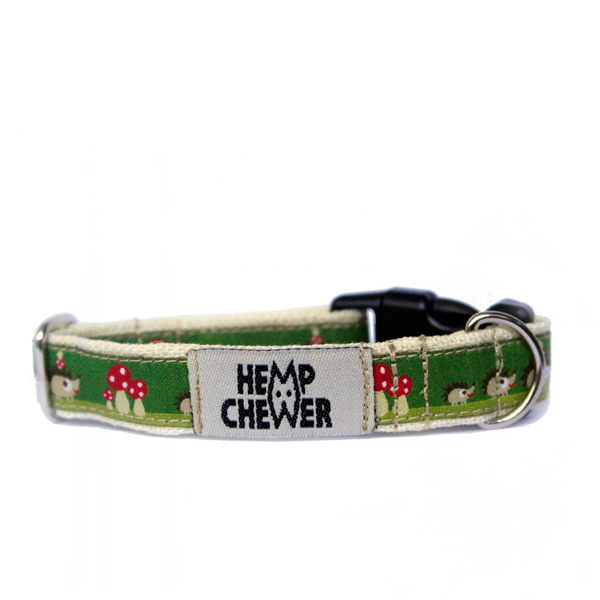 Hempchewer Hedgie Fam 15mm Collar