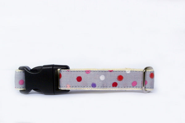 Hempchewer Mini Pretty Polka 15mm Collar